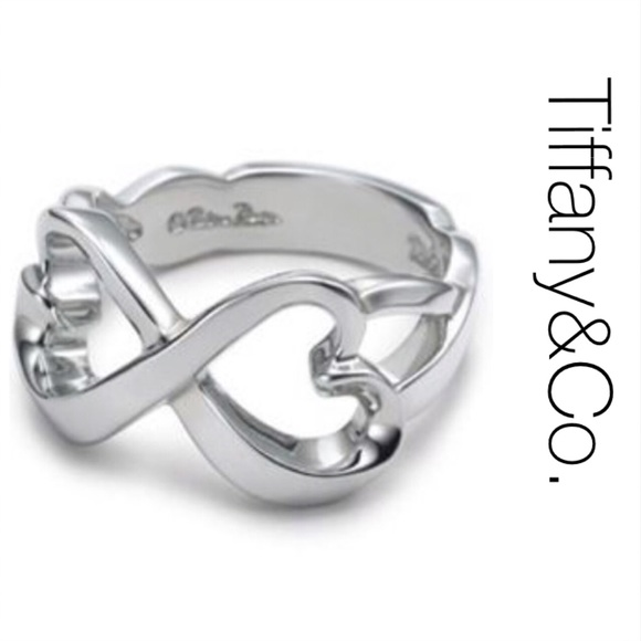 779f383935e68 Tiffany & Co. Double Loving Heart Ring 6.5